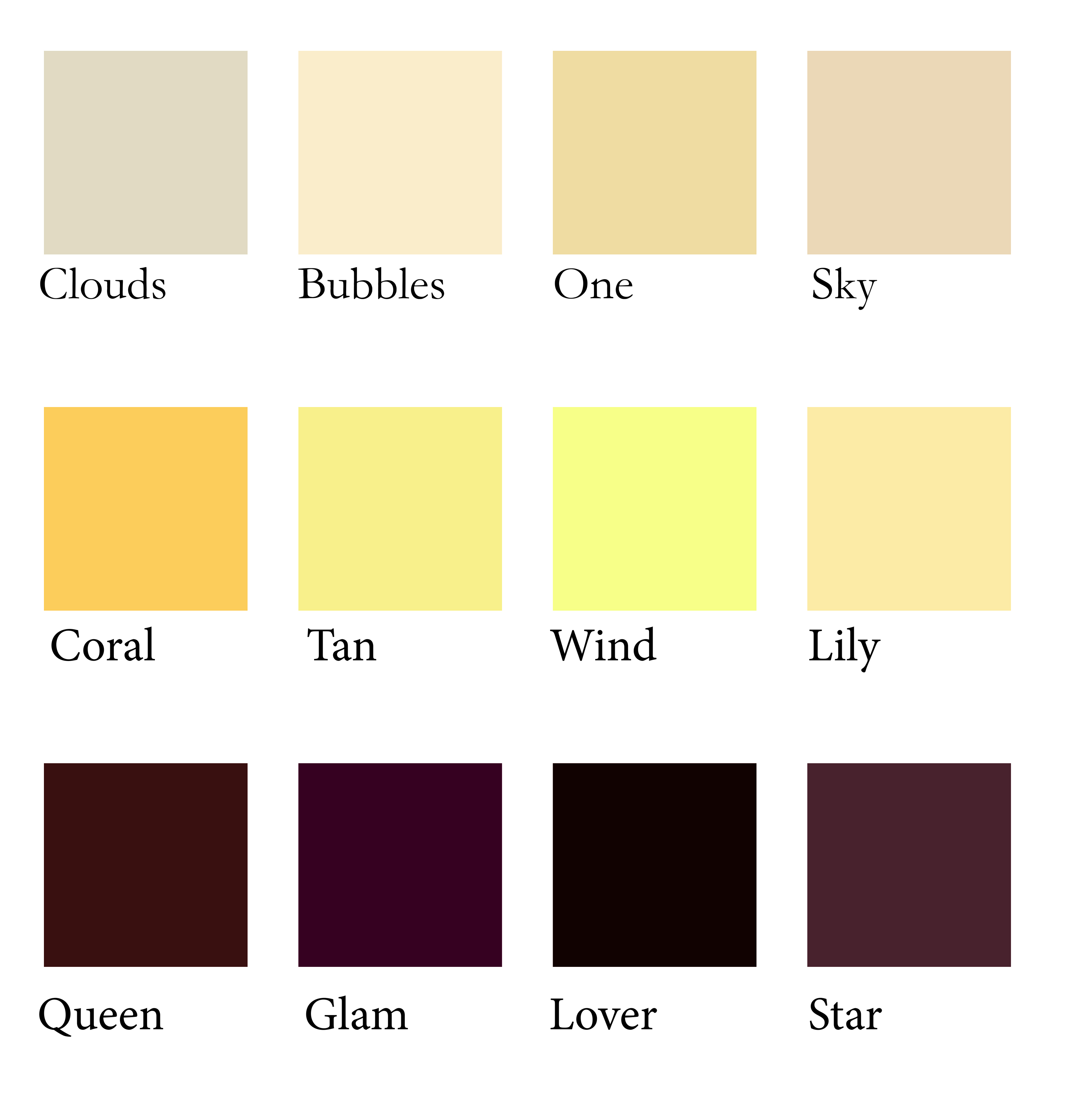 makeupdaddybff shade ranges